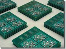 In-house manufacturing of a batch of electronic boards in SMT technology