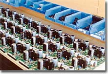 In-house manufacturing of a batch of power supplies in through-hole technology