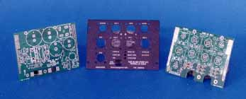 Examples of Printed Circuit Boards and a Face Plate